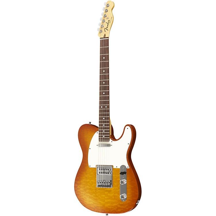 Fender Custom ShopLimited Bent Top Telecaster Electric GuitarHoney BurstRosewood Fingerboard