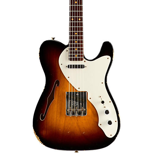 Fender Custom Shop Limited Edition '50s Thinline Relic Telecaster Rosewood Neck-thumbnail