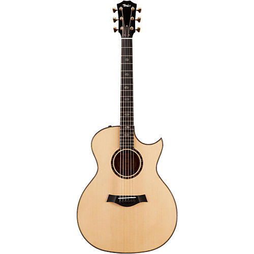 Taylor Limited Edition 514ce Figured Mahogany Grand Auditorium Florentine Cutaway Acoustic-Electric Guitar-thumbnail