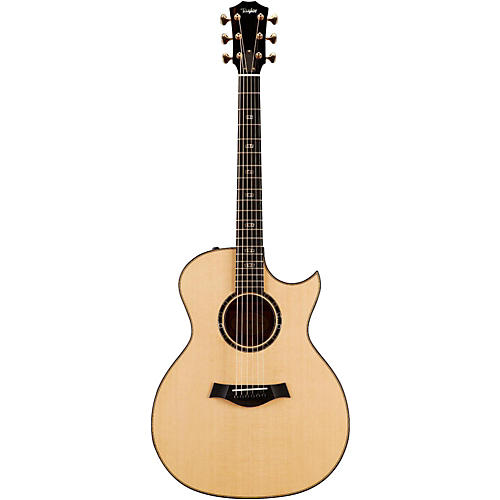 Taylor Limited Edition 514ce Quilted Sapele Grand Auditorium Florentine Cutaway Acoustic-Electric Guitar Brown Stain