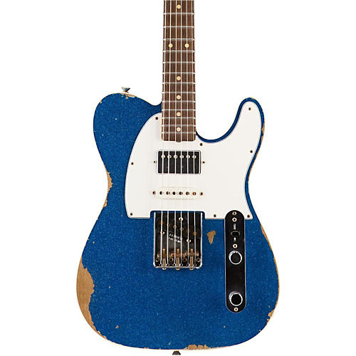 Fender Custom Shop Limited Edition '60s Heavy Relic Nashville Telecaster Custom HSS Electric Guitar, Rosewood-thumbnail