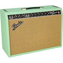 Fender Limited Edition '65 Deluxe Reverb Surf Green 22W 1x12 Tube Guitar Combo Amplifier Surf Green