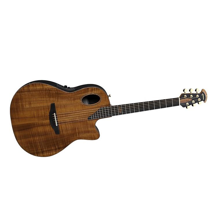 OvationLimited Edition AAAAA Koa Elite Deep Contour Cutaway Acoustic-Electric Guitar