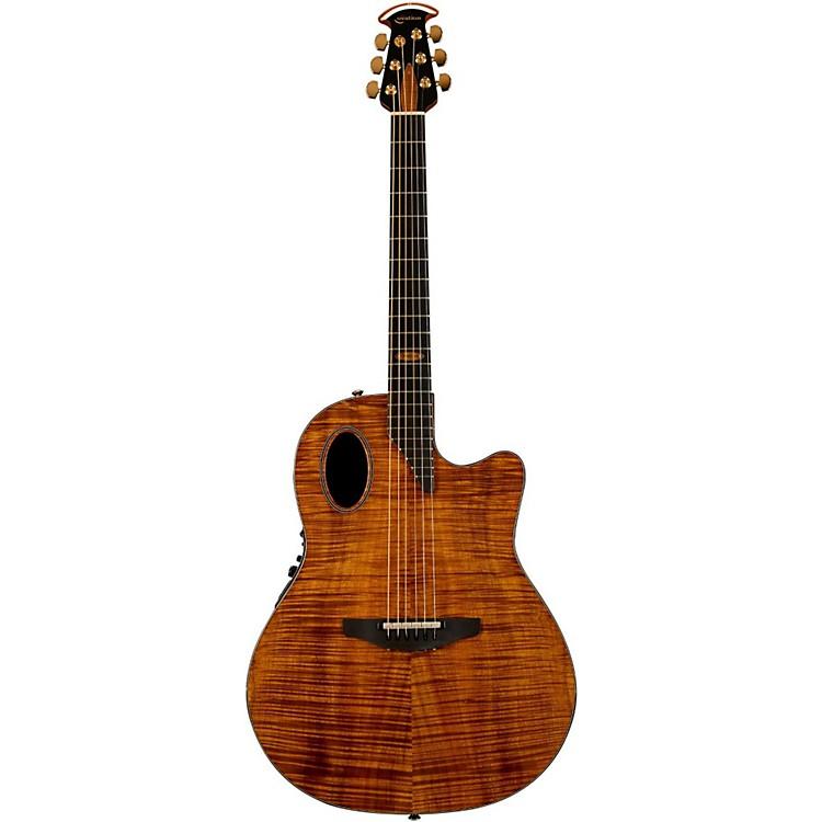OvationLimited Edition AAAAA Koa Elite Deep Cutaway Acoustic-Electric Guitar
