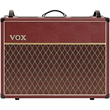 Vox Limited-Edition AC30C2MB 30W 2x12 Tube Guitar Combo Amp with Celestion Greenback Speakers Vintage Red