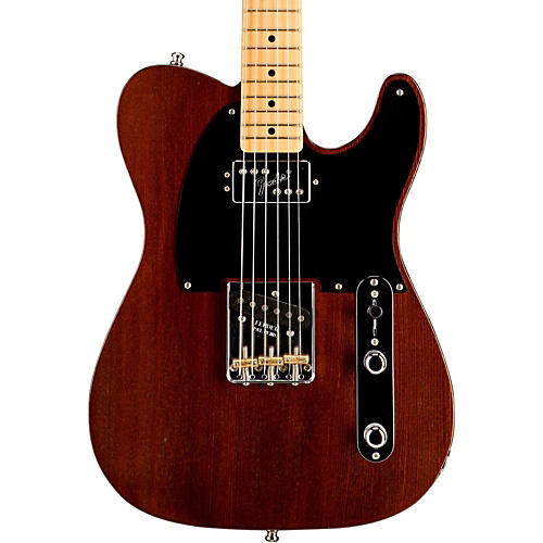 Fender Limited Edition American Vintage Hot Rod 50's Reclaimed Redwood Telecaster Electric Guitar Natural