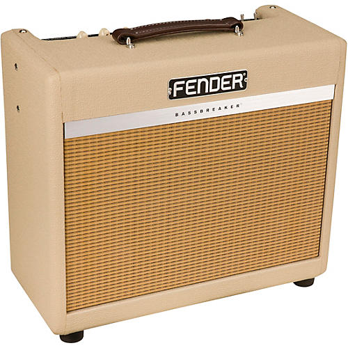 fender limited edition bassbreaker 15 15w tube combo amplifier blonde musician 39 s friend. Black Bedroom Furniture Sets. Home Design Ideas