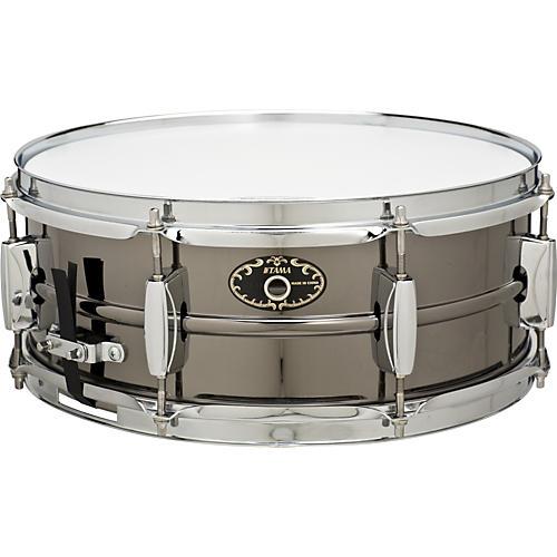 Tama Limited Edition Black Nickel Steel Snare Drum