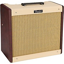 Fender Limited-Edition Blues Jr 15W 1x12 Tube Guitar Combo Amplifier Two-Tone Wine Blonde