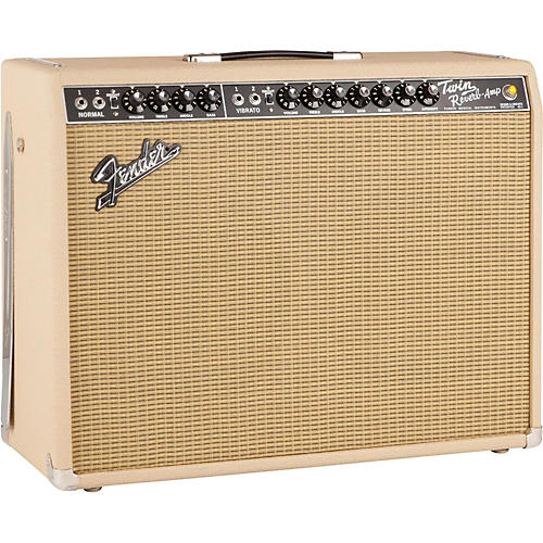 Fender Limited Edition British Tan '65 Twin Reverb 85W 2x12 Tube Guitar Combo Amp-thumbnail