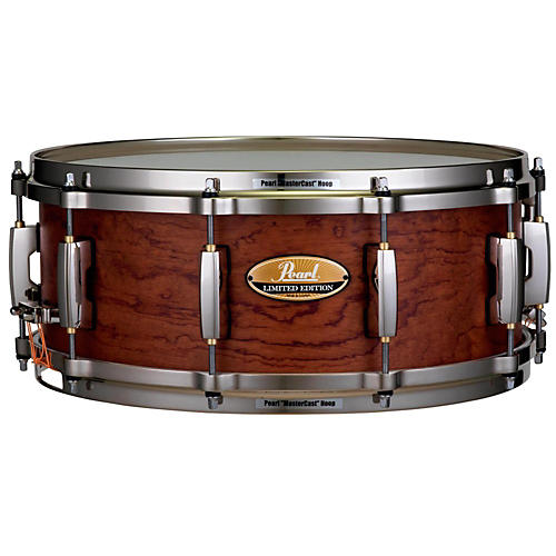 Pearl Limited Edition Bubinga/Maple Snare 14 x 5.5 in. Satin Natural