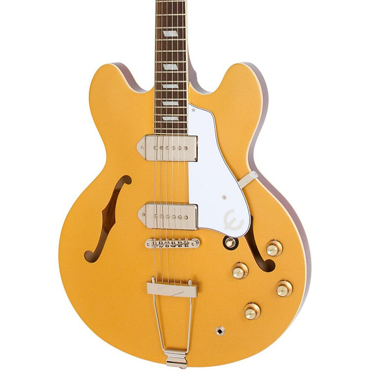 Epiphone Limited Edition Casino Hollowbody Electric Guitar Metallic Gold