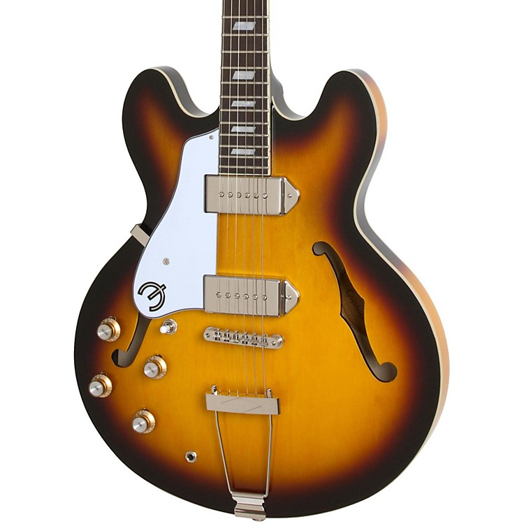 Epiphone Limited Edition Casino Left Handed Hollowbody Electric Guitar Vintage Sunburst
