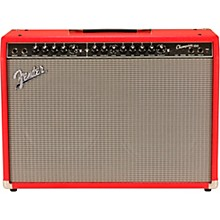 Fender Limited-Edition Champion 100 100W 2x12 Guitar Combo Amp Fiesta Red