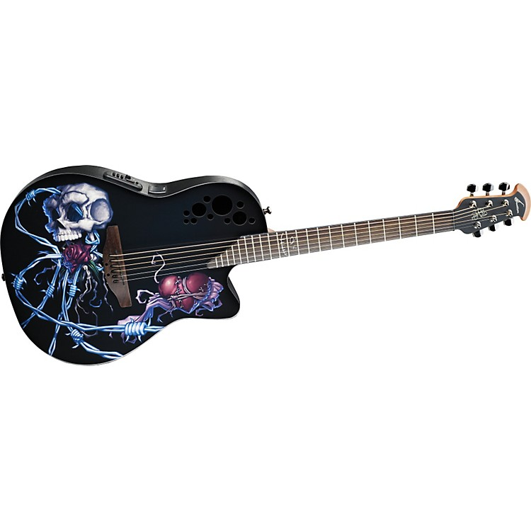 Ovation Limited-Edition DJ Ashba Demented Acoustic-Electric Guitar
