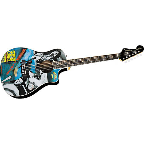 Fender Limited Edition Dick Dale Malibu CE Acoustic-Electric Guitar