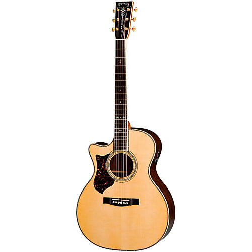 Martin Limited Edition GPC-42E Grand Performance Left-Handed Acoustic-Electric Guitar-thumbnail