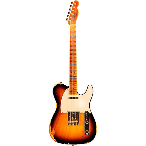 Fender Custom Shop Limited Edition Golden 1951 Heavy Relic Telecaster with Gold Hardware-thumbnail