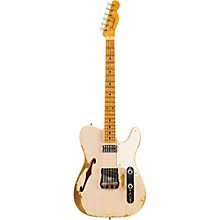 Limited Edition Heavy Relic Caballo Ligero Maple Fingerboard Electric Guitar Dirty White Blonde