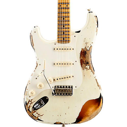 Fender Custom Shop Limited Edition Heavy Relic Mischief Maker Maple Fingerboard Left-Handed Electric Guitar-thumbnail