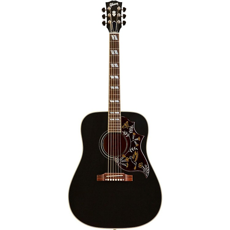 gibson limited edition hummingbird acoustic electric guitar ebony musician 39 s friend. Black Bedroom Furniture Sets. Home Design Ideas