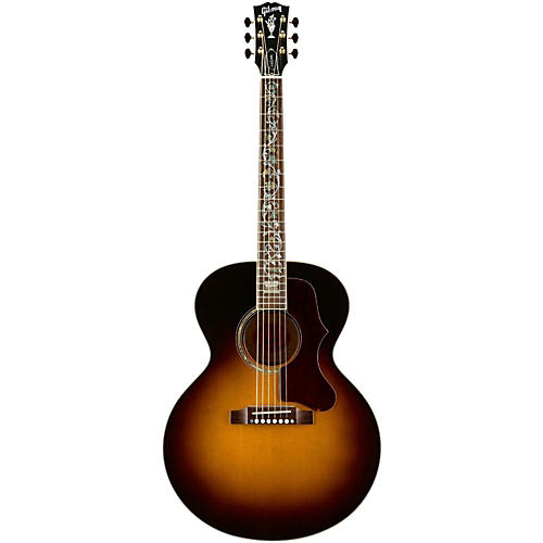Gibson Limited Edition J-185 Quilt Vine Acoustic Electric Guitar-thumbnail