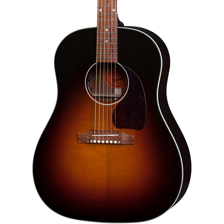 gibson limited edition j 45 deluxe acoustic guitar musician 39 s friend. Black Bedroom Furniture Sets. Home Design Ideas