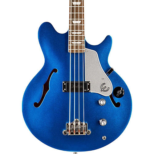 Epiphone Limited Edition Jack Casady Blue Royale Bass Guitar