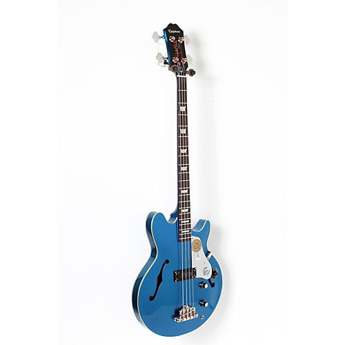 Epiphone Limited Edition Jack Casady Blue Royale Bass Guitar-thumbnail
