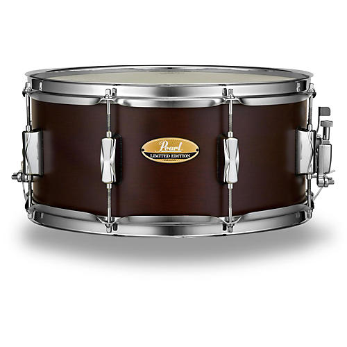 Pearl Limited Edition Maple Snare 14 x 6.5 in. Deep Satin Brown