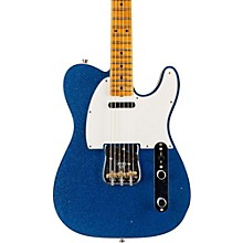 Limited Edition NAMM 2016 Custom Built Postmodern Journeyman Relic Maple Fingerboard Telecaster Blue Sparkle