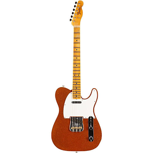 Fender Custom Shop Limited Edition NAMM 2016 Custom Built Postmodern Journeyman Relic Maple Fingerboard Telecaster Orange Sparkle