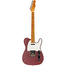 Limited Edition NAMM 2016 Custom Built Postmodern Journeyman Relic Maple Fingerboard Telecaster Pink Sparkle