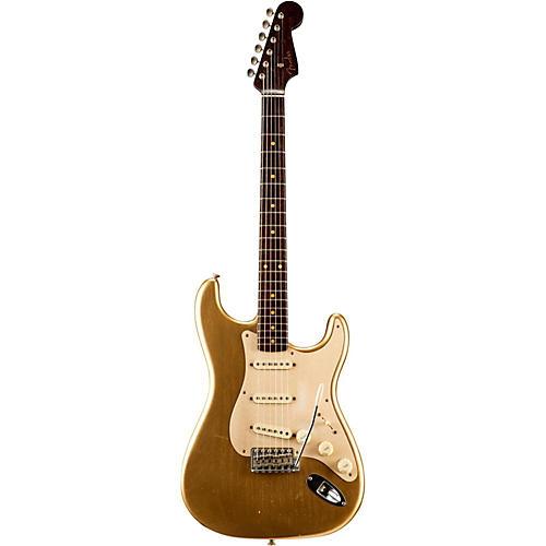 Fender Custom Shop Limited Edition NAMM Custom Built '50s Journeyman Relic Rosewood Neck Stratocaster Aztec Gold