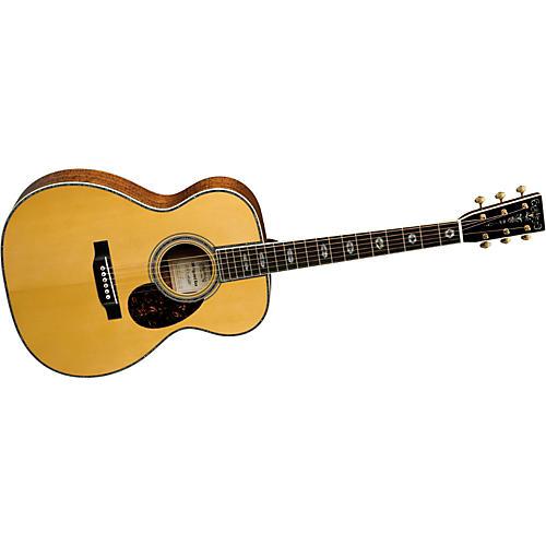 Martin Limited Edition OM Figured Koa Acoustic Guitar-thumbnail