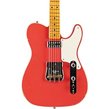 Limited Edition Relic Tele Caballo Tono with Maple Fingerboard Electric Guitar Faded Fiesta Red