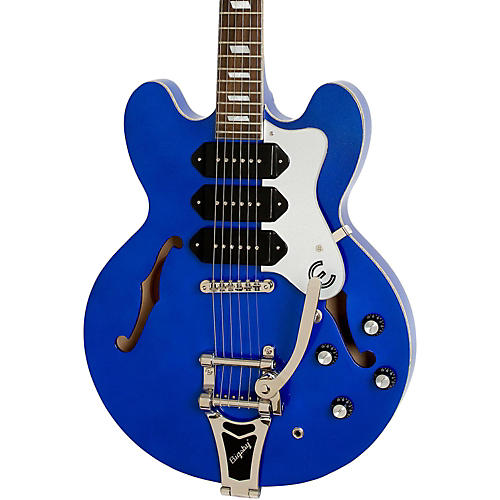 Epiphone Limited Edition Riviera Custom P93 Blue Royale Electric Guitar