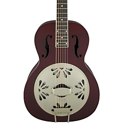 Limited Edition Roots Series G9202 Honey Dipper Special Resonator Acoustic Guitar Oxblood