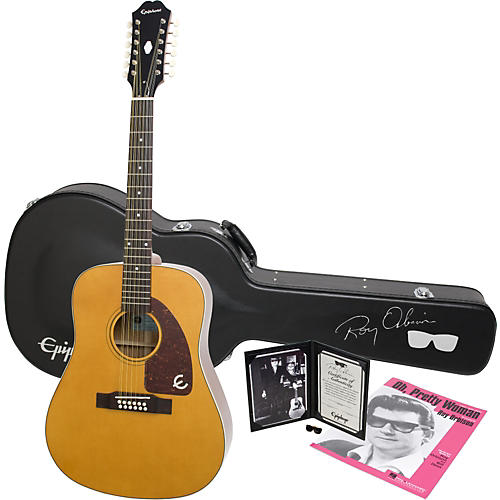 Epiphone Limited Edition Roy Orbison Bard 12-String Acoustic Guitar Package