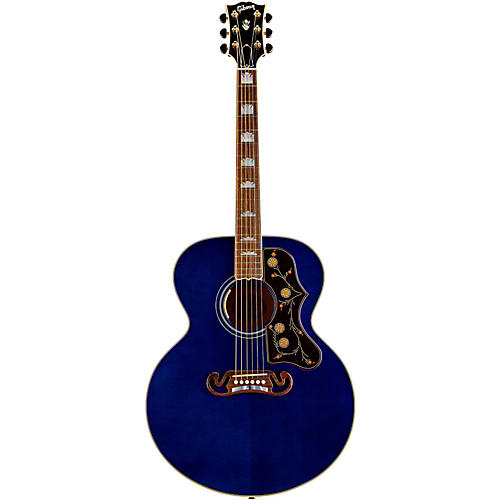 Gibson Limited Edition SJ-200 Trans Blue Acoustic-Electric Guitar
