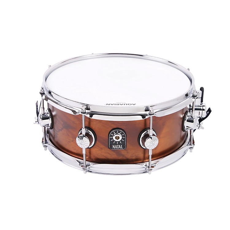 Natal Drums Limited Edition Series Old World Bronze Snare Drum  13x5.5