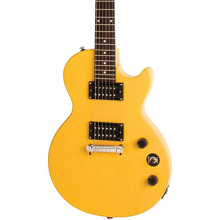 EpiphoneLimited Edition Special-I Electric GuitarWorn TV Yellow