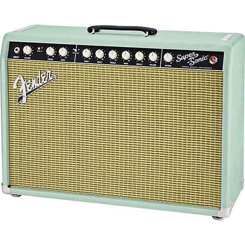 Fender Limited Edition Super-Sonic 22 22W 1x12 Tube Guitar Combo Amp-thumbnail