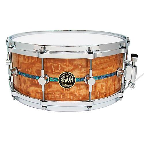 Spaun Limited Edition Tamo Ash Snare Tamo Ash 6x14