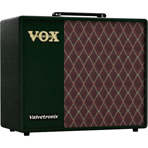 Vox Limited Edition Valvetronix VT40X BRG 40W 1x10 Guitar Modeling Combo Amp-thumbnail