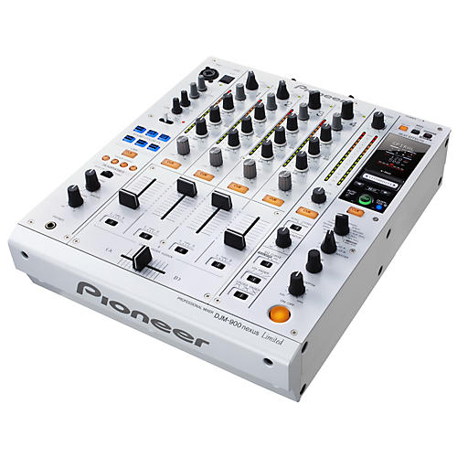 Pioneer Limited Edition White CDJ-2000 Performance Multi Player /DJM-900nexus Professional DJ Mixer Package