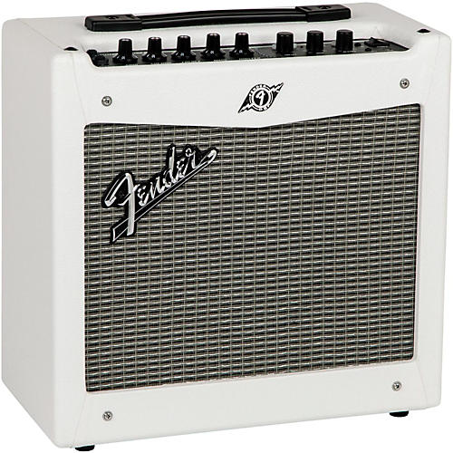 Fender Limited Edition White Mustang I V2 20W 1x8 Guitar Combo Amp