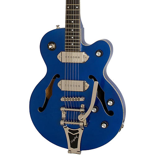 Epiphone Limited Edition Wildkat Blue Royale Electric Guitar Chicago Pearl