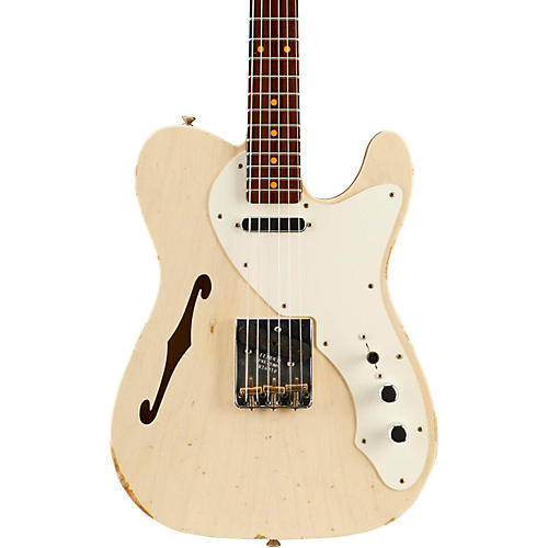 Fender Custom Shop Limited Edtion 50s Thinline Relic Telecaster Roswood Neck Vintage Blonde