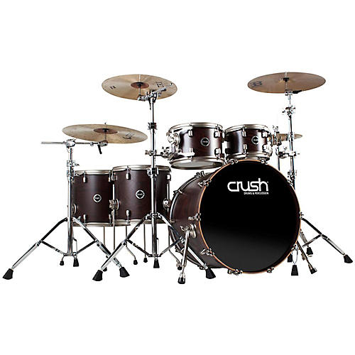 Crush Drums & Percussion Limited Reserve Wenge 6-Piece Shell Pack-thumbnail